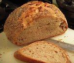 light rye sourdough bread