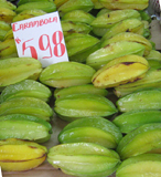 carambola fruits in a market