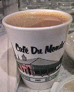 chicory-milk coffee