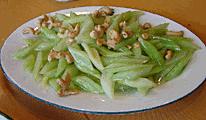 celery-cashew stir-fry