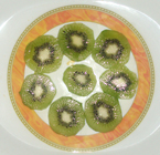 kiwifruit-cut section