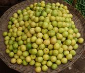lemons in a market