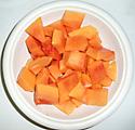 papaya sections