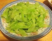 stir-fried stem lettuce
