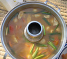 tom yum soup from thailand