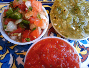 tomatillo salsa and sauces