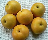 Asian pears- nashi