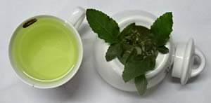 basil-herb tea
