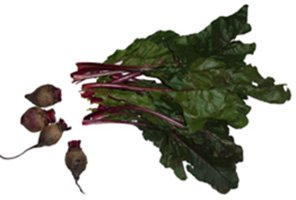 beet with top greens