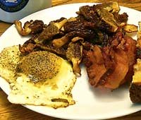 butter-sauteed-morel-mushrooms