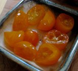 candied kumquat fruits
