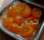 candied kumquat fruits