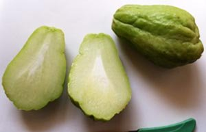 chayote pears