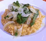 crab risotto fennel
