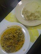 pounded yam recipe - fufu