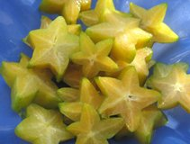 star fruit cut sections