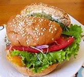 taro root burger